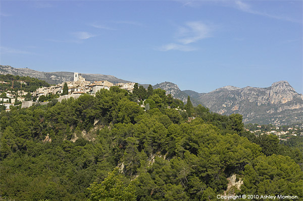 The French Riviera village of Saint Paul-de-Vence.
