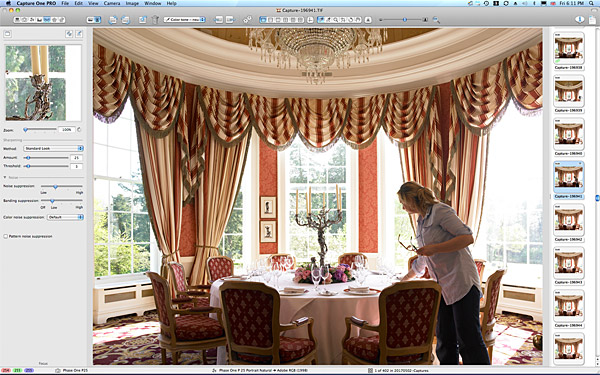 One of the first pictures taken of the Pantheon Suite at the K Club in County Kildare