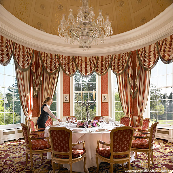 The Pantheon Suite at the Kildare Hotel Spa & Country Club in County Kildare.