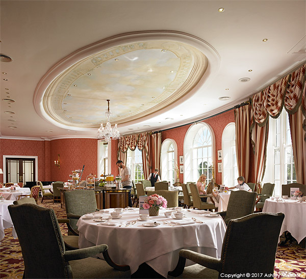 The River Room Restaurant at the Kildare Hotel Spa & Country Club in County Kildare.