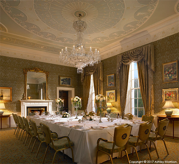 The John Jefferson Smurfit Room at the K Club in County Kildare.